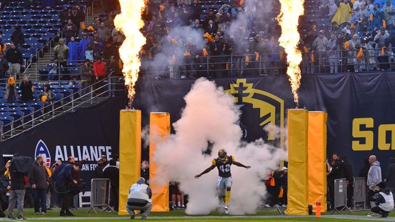 San Diego Fleet team members were introduced to the San Diego crowd for the first time at SDCCU Stadium.