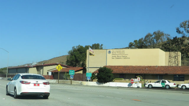 Border Patrol checkpoint in San Clemente