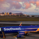 Southwest Airlines 737-800 in Honolulu