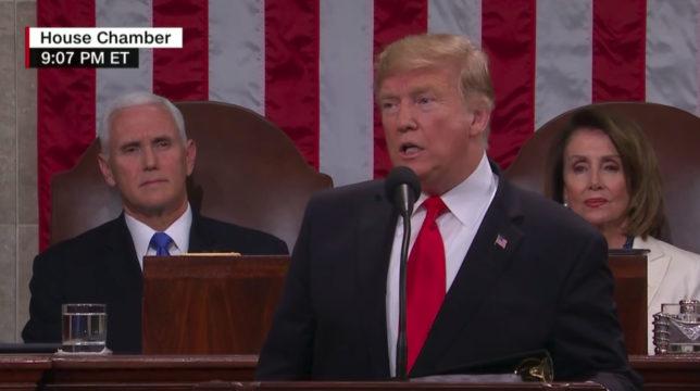 President Trump addresses Congress