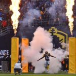 Fleet team members were introduced to the San Diego crowd for the first time at SDCCU Stadium. Photo by Chris Stone