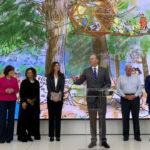 Mayor Kevin Faulconer speaks during the announcement