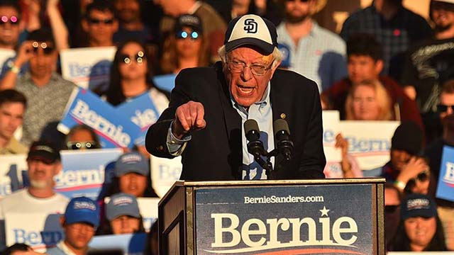 Bernie Sanders boasted that in 2016 he won the vote of more young people than Hillary Clinton and Donald Trump combined.
