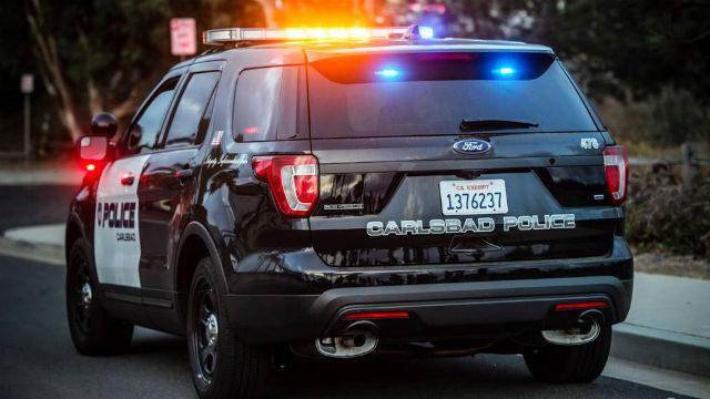 Carlsbad Police cruiser