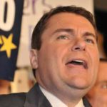 Carl DeMaio speaks to supporters at the U.S. Grant Hotel in his failed race for Congress in 2014. Photo by Chris Stone