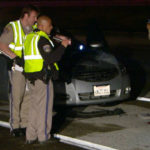 CHP officers investigate the fatal accident