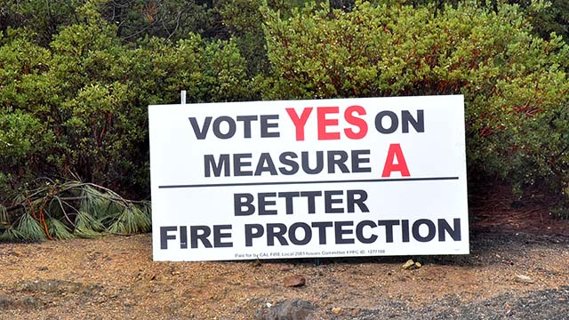 Measure A in the Julian-Cuyamaca Fire Protection District would end the last volunteer fire department in San Diego County.