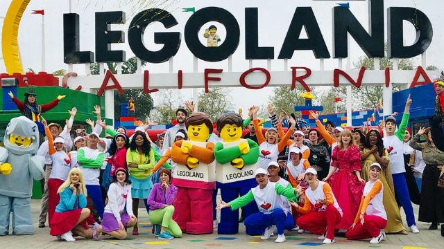 LEGOLAND opening celebration