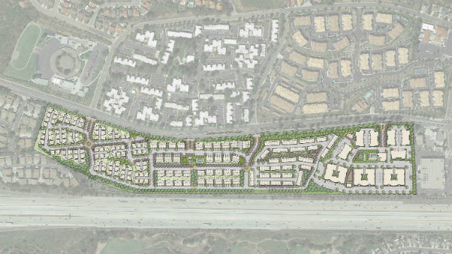 Site plan for Pacific Village