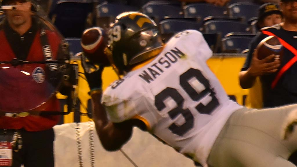 Terrell Watson makes TD catch for the Fleet in second half