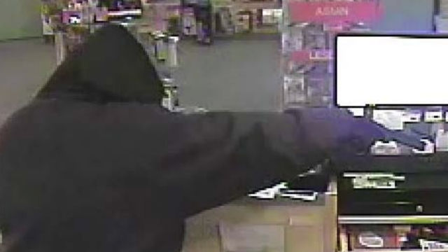 Surveillance camera image of the gunman
