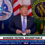 President Trump meets with Border Patrol and other officials at Calexico.