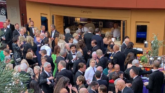 Crowd at Friday night gala