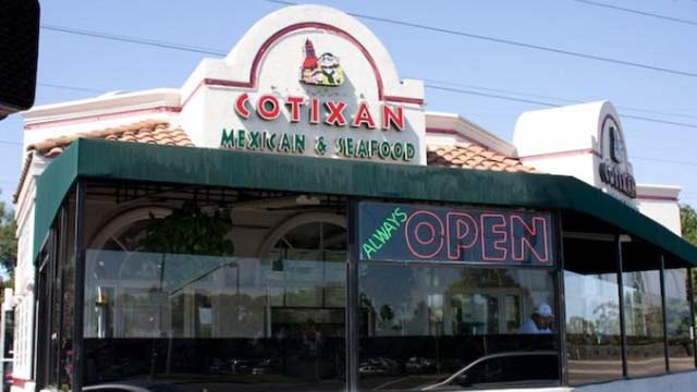 Cotixan Mexican Food in Chula Vista.