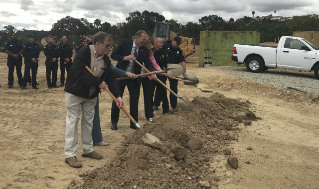 Groundbreaking for Fire Station No. 50