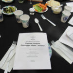 Setting for interfaith seder