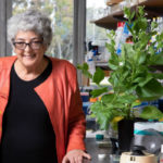 Joanne Chory in her laboratory