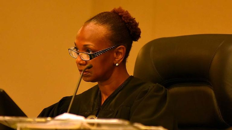 Judge Randa Trapp.