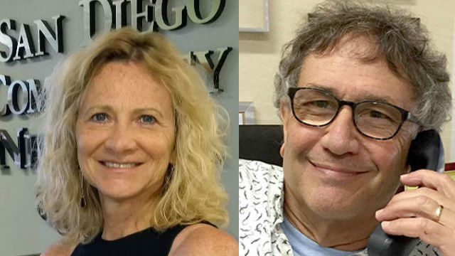 Julie Main and David Mannis