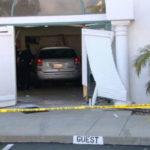 Car inside clubhouse in Oceanside