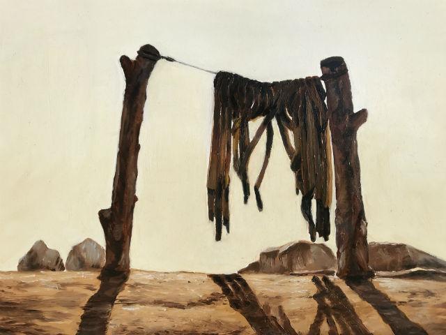 """""""Zeuxis' Grate"""" by Casey Polacheck"""