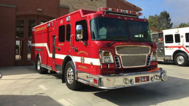 Rancho Santa Fe Fire Protection District vehicle