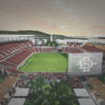 Rendering of Mission Valley stadium
