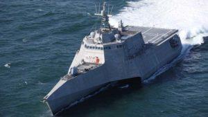 Independence-variant littoral combat ship USS Tulsa