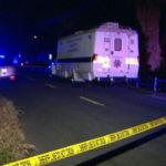 Crime scene in Vista