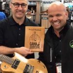 San Diego-based Ciari Guitars may roll out its folding guitars to Lindbergh Field travelers. I