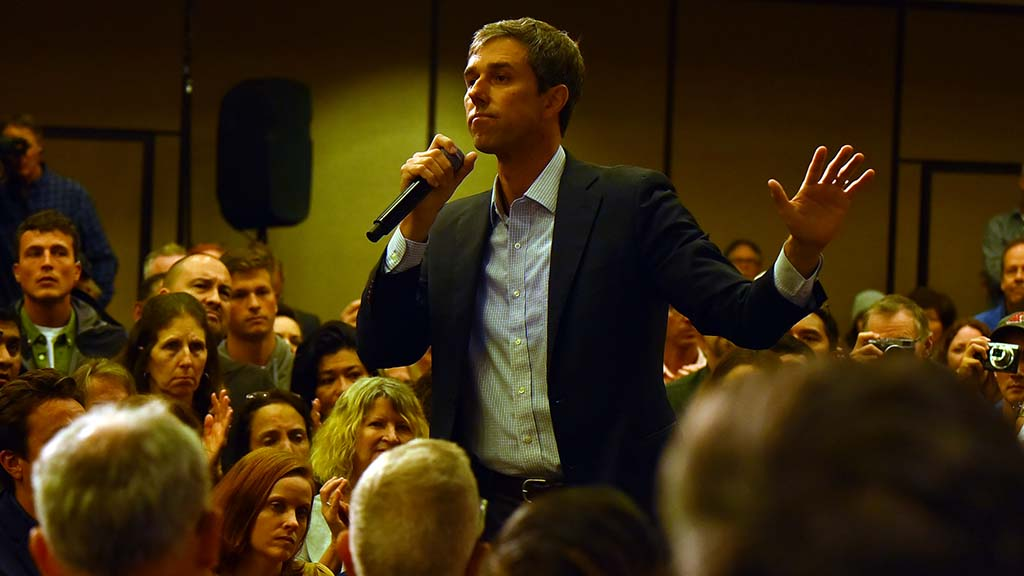 """Beto O'Rourke said Congress should """"demand we no longer sell AR-15s or weapons of war in our communities."""""""