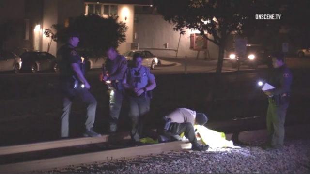 Deputies investigate Amtrak accident