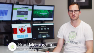BudTrader founder and CEO Brad McLaughlin describes his investment opportunity. Image via YouTube.com