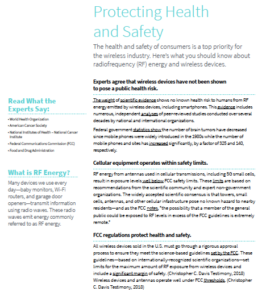 Fact sheet from CTIA, the wireless industry trade group. (PDF)