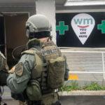 Chula Vista Police outside dispensary