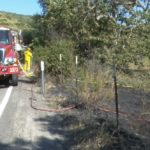 Cal Fire crews in Dulzura