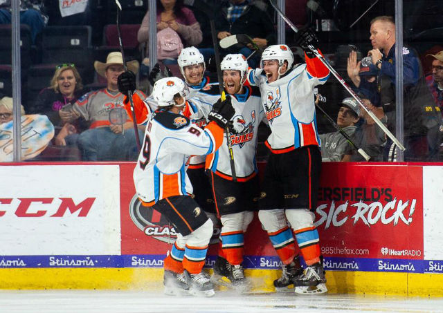 Gulls Score In 4th Overtime To Win First Game Of Pacific Division