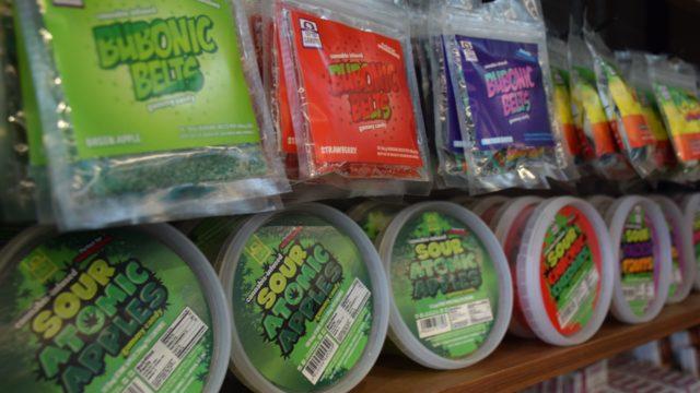 Edible marijuana products at Urbn Leaf Dispensary. Photo by Lauren J. Mapp