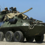 Marine LAV-25 light armored vehicle