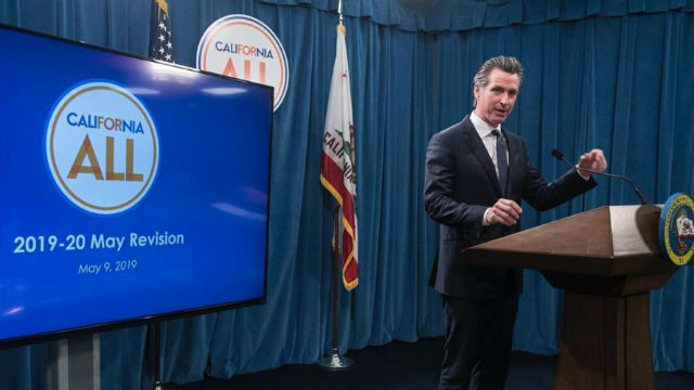 Gov. Gain Newsom introduces revised budget
