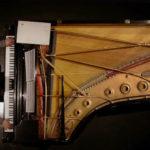 Brendan Nguyen on the grand piano