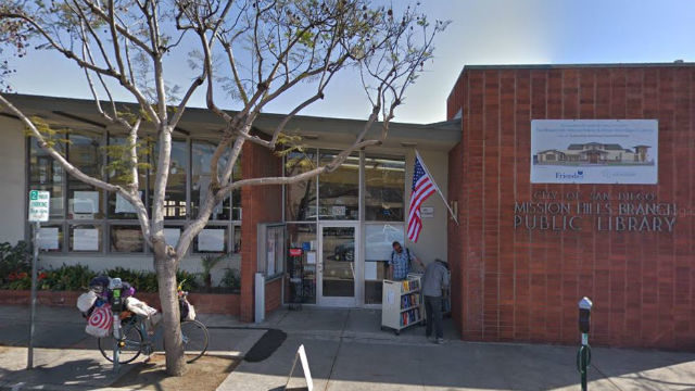 The parcel containing the old Mission Hills Public Library is one slated for development.