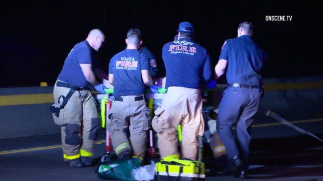 Vista Fire Department paramedics attempt to save victim