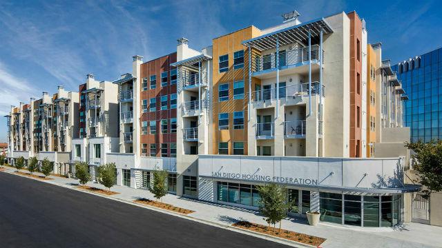 San Diego Housing Federation headquarters in North Park