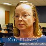 Deputy District Attorney Kate Flaherty was chief of the DA's Sex Crimes and Human Trafficking Division for three years