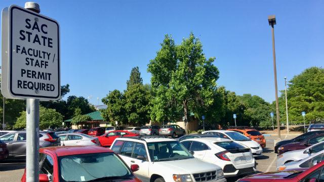 Parking at CSU Sacramento