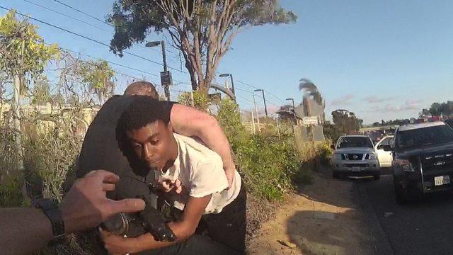 Cannon Arrest - SDPD