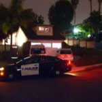 Carlsbad Police cruiser outside home