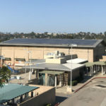 Solar panels on Carmel Valley Recreation Center