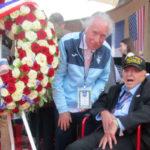 D-Day veteran Sidney Walton with Daniel Smiechowski